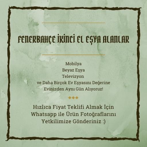 Fenerbahçe İkinci El Eşya Alanlar